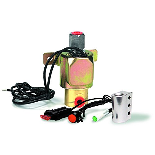 B&M 46076 Launch Control Solenoid with Installation Kit ()