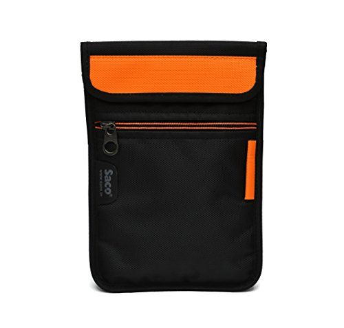 Saco Soft Durable Pouch for Samsung Galaxy Tab 4 T331Tablet   Orange