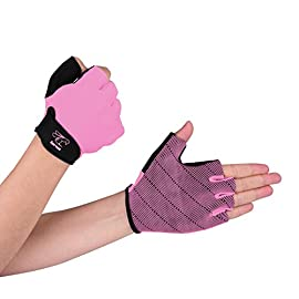 Hornet Watersports Light Pink Rowing Gloves for Women Ideal for Indoor Rowing, Sculling, Kayak, SUP, Outrigger Canoe…