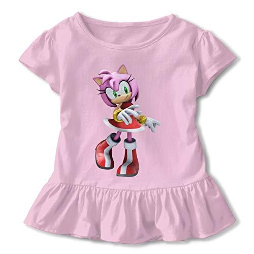 HiPiClothK Children's Boy's&Girl's Sonic Hedgehog Amy Rose Fashion