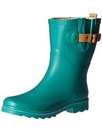 Chooka Women's Top Solid Mid Rain Boot