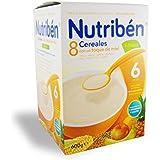 Nutribén - 8 Céréales et Miel Nutribén 600 gr - 1678171