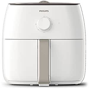 Philips Viva Collection Twin TurboStar Airfryer XXL with Rapid Air Technology, White, HD9630/21