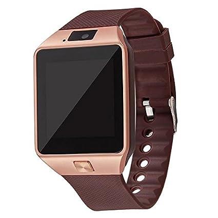 Amazon.com: Smartwatch DZ09 - Reloj inteligente para hombre ...