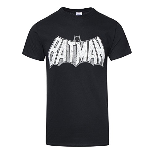 Batman+Retro+Shirts Products : Batman Unisex Adult's Crackle Logo T Shirt