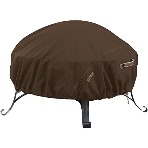 New Classic Accessories Madrona RainProof Round Fire Pit Cover - Large by New Classic Accessories