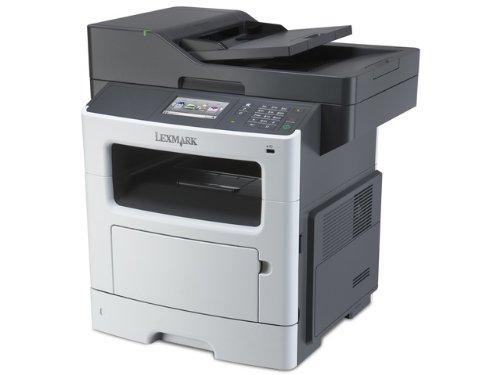 Lexmark MX510 MX510DE Laser Multifunction Printer - Monochrome - Copier/Printer/Scanner - 42 ppm Mono Print - 1200 x 1200 dpi Print - Automatic Duplex Print - 1200 dpi (Certified Refurbished)