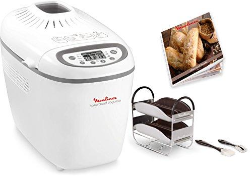 Moulinex OW6101 Home Bread Baguette Macchina del Pane con 16 Programmi Preimpostati, Capacità Extra fino a 1.5 kg,1650 W… 2