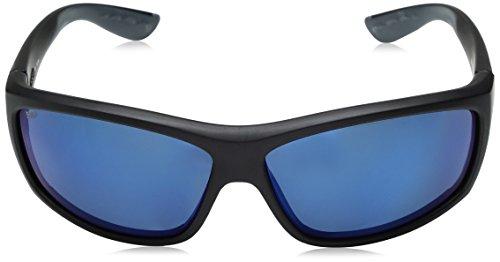 Costa del Mar Saltbreak Polarized Iridium Wrap Sunglasses, Black, 64.5 mm by Costa Del Mar (Image #2)