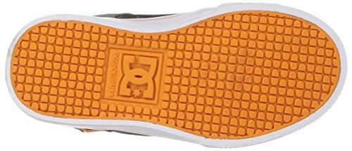 DC - Zapatillas de skateboarding para niño gris/azul/blanco