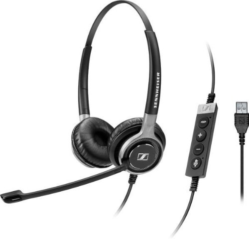 Sennheiser SC 660 USB ML On-ear Black
