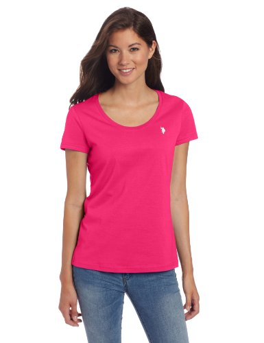 U.S. Polo Assn. Women's Juniors T-Shirt with Short Sleeves