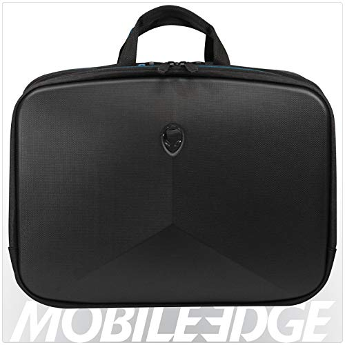 Mobile Edge Alienware Vindicator 2.0 Black Laptop Briefcase, 15 Inch, ScanFast TSA Checkpoint Friendly, for Men, Women, Students, Gamers - Mobile Edge Briefcase Ladies