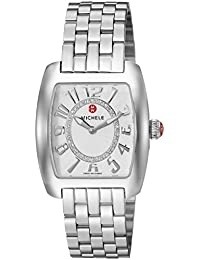 Womens Urban Mini Swiss Quartz Stainless Steel Casual Watch, Color:Silver-