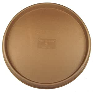 Tusco Products TR16B Rolled Rim Saucer Tray, Bronze, 16-Inch
