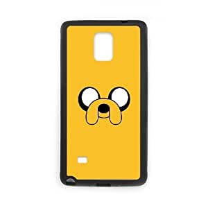 Samsung Galaxy Note 4 Cell Phone Case Black Adventure Time Jake 2 JSK637932