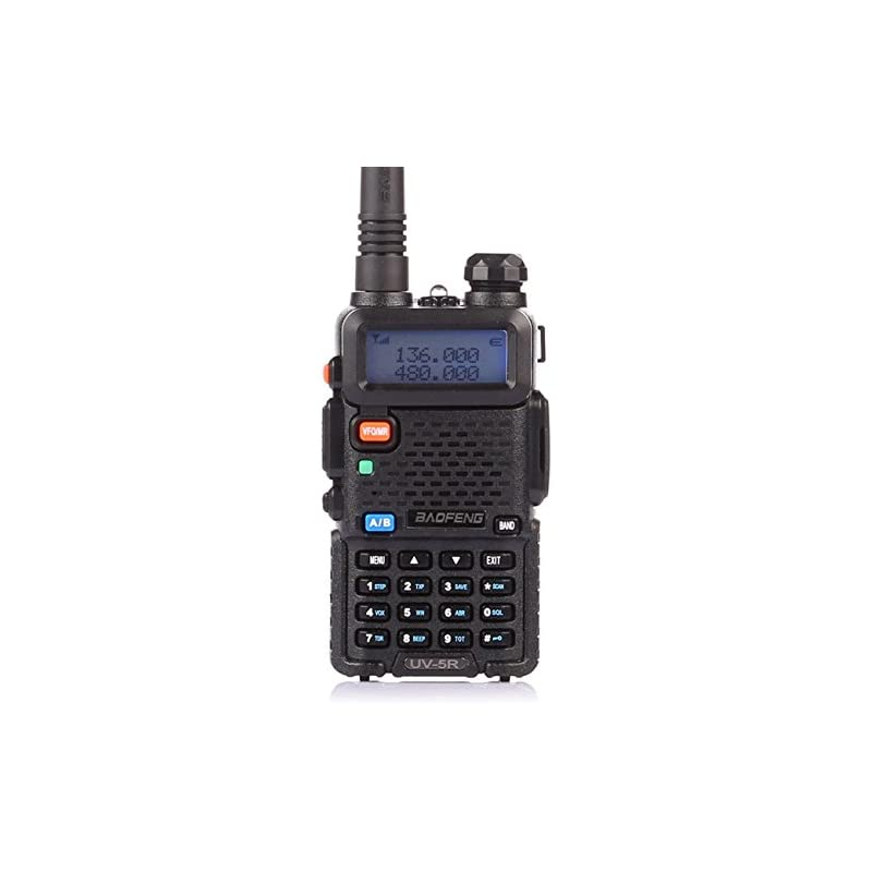 BaoFeng UV-5R Dual Band Two Way Radio (B