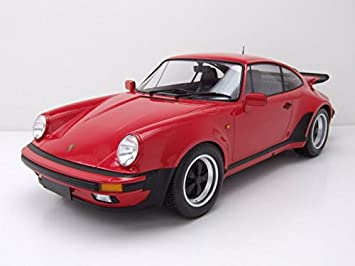 Minichamps - Porsche - 911 Turbo - 1977 Coche de ferrocarril de Collection, 125066115, Rojo Strawberry: Amazon.es: Juguetes y juegos