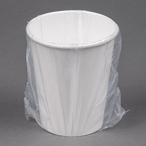 TableTop King W370RC Hotel and Motel 10 oz. Individually Wrapped Paper Hot Cup - 480/Case by TableTop King
