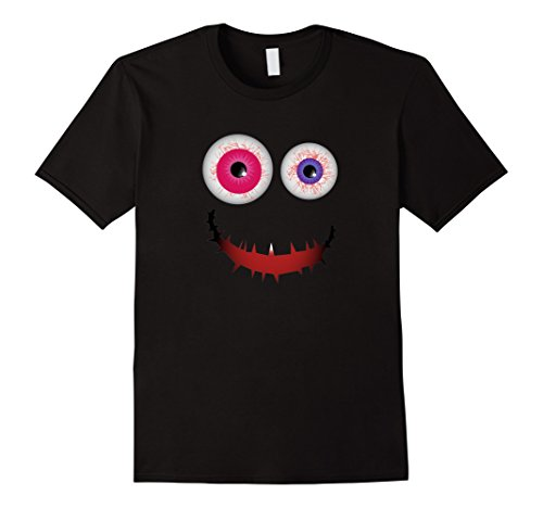 Mens Best Scary Halloween Costumes T-shirt Adult Kid Emoji Gifts Large (Best Halloween Costumes Male)