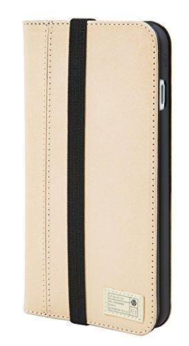 [Hex Icon Wallet Case for iPhone 7 Plus - Vachetta Leather] (Case Vachetta Leather)