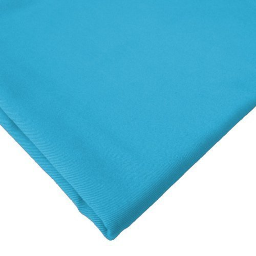 Cotton Fabric 6 Metres, High Quality 100% Cotton Twill Fabric. Turquoise