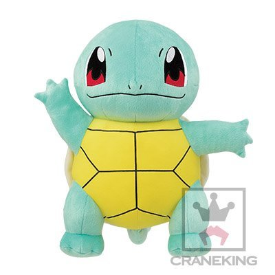 Banpresto Pokemon Sunmoon large Squirtle stuffed anime otaku ...
