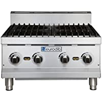 Eurodib HP424 Stainless Steel 4 Burners Hot Plate