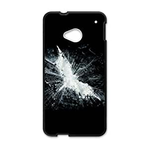 High Quality Specially Designed Skin cover Case dark knight rises basic HTC One M7 Cell Phone Case Black
