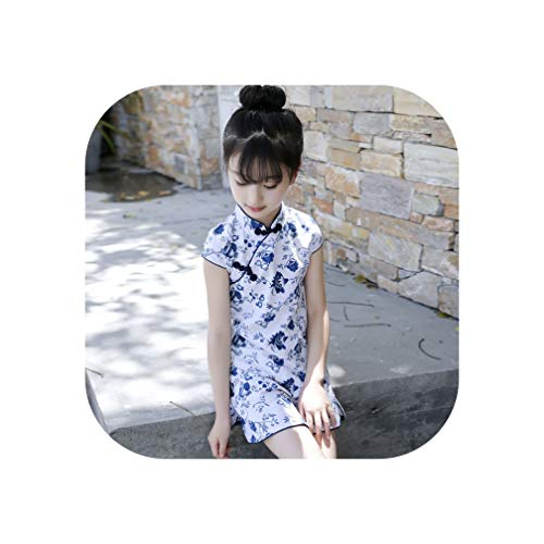 6 16 Yrs Baby Girl Floral Qipao Dress