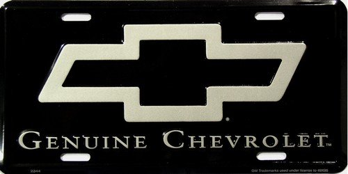 Genuine Chevrolet License Plate - Genuine Chevrolet License Plate