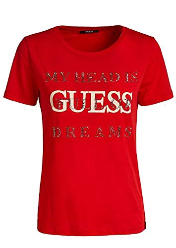 shirt Guess Rosso Cn Ss G512 Donna T Tee Dreams necessary Red qqXWFr