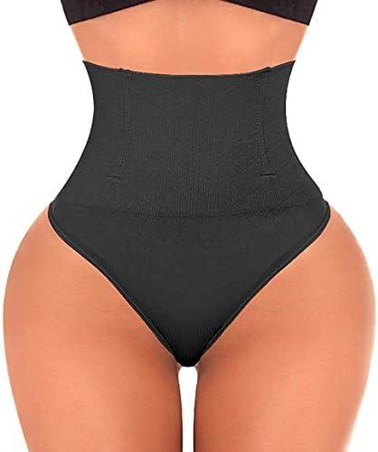 Thong Shapewear Tummy Control Panties Body Shaper for Women Butt Lifter Waist Trainer Seamless Slimmer Panty