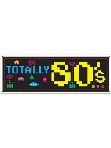Totally 80's Costume Ideas (Beistle 57518 1-Pack 80's Sign Banner, 5-Feet by 21-Inch)
