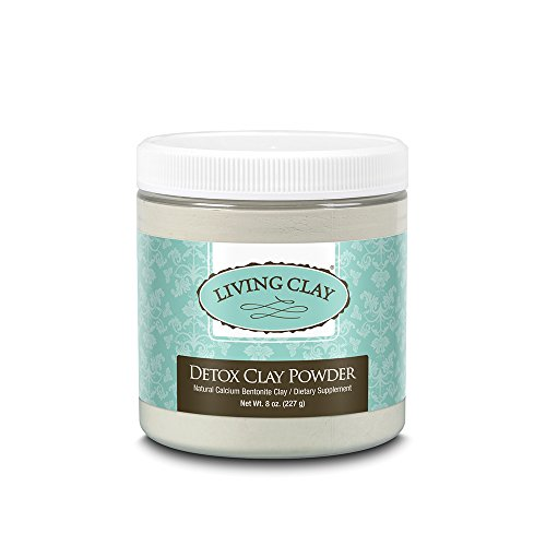 Living Clay, Detox Clay Powder, 8 Ounce