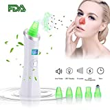 Blackhead Remover Vacuum,iRedBeau Upgrade Pore Vacuum 6 Heads Electric Blackhead Remover Skin Facial Pore Cleaner Extractor Comedo Suction for Women Men's Face Nose Skin Treatment