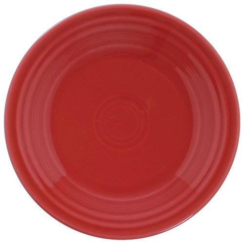 "Homer Laughlin Fiesta Scarlet China Plate - 9"" Dia"
