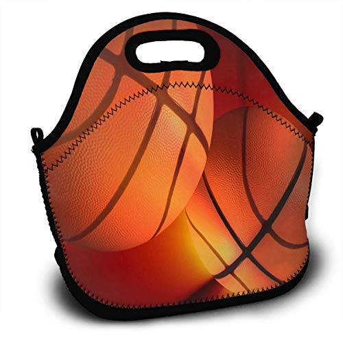 Basketball On Pinterest Lunch Bag Womens Insulated Zipper Lunch Tote Containers Special Lunch Box For Kids -