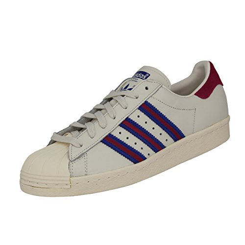 Adidas Originals SUPERSTAR 80'S Zapatillas Sneakers Blanco para Unisex