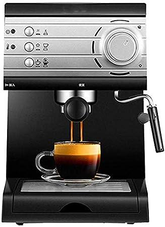ZJZ Mini cafetera semiautomática doméstica, máquina de café ...