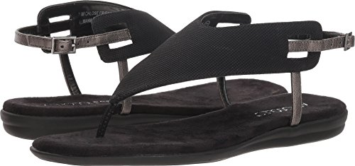 Shoes Ladies Aerosoles (Aerosoles Women's Chlose Friend Sandal, Black, 8 M US)
