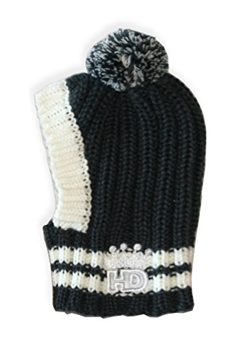 Hip Doggie HD-7CPG-S Small HD Crown Knit Hat - Grey by Hip Doggie