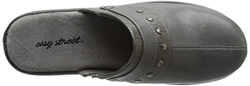 Easy Women's Street Ozone Crocodile Mule Grey r7r5qdpx