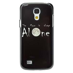 DUR Letter Alone Pattern Aluminum Hard Case for Samsung Galaxy S4 mini I9190