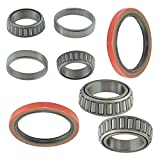 6 Piece Inner & Outer Wheel Bearing Race w/Seal Kit LH & RH Sides for Toyota