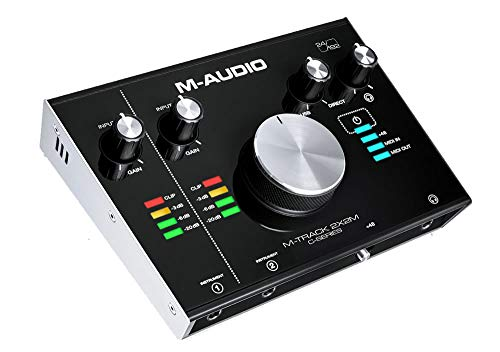 Interface de Áudio M-Audio M-Track 2X2M