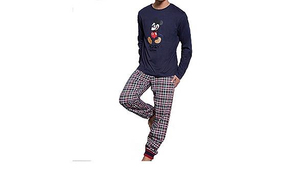 Disney - Pijama DISNEY Hombre Invierno MIKEY MOUSE: Amazon.es ...