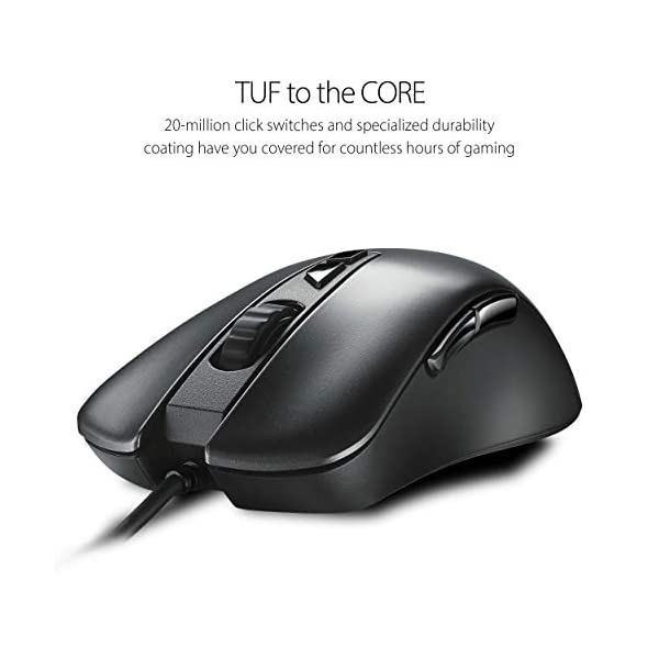 ASUS Optical RGB Gaming Mouse - TUF M3 | Ergonomic, Lightweight Right-Handed Wired Gaming Mouse for PC | 7000 DPI Gaming…