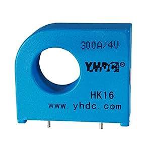 Sensor de corriente de efecto Hall en lazo cerrado y alcance variable HK(S)16 50A/4V