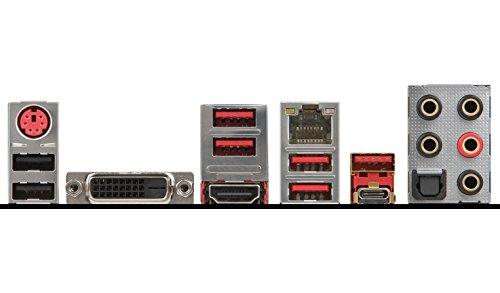 MSI Gaming AMD Ryzen X370 DDR4 VR Ready HDMI USB 3 SLI CFX ATX Motherboard (X370 GAMING PRO CARBON) by MSI (Image #4)